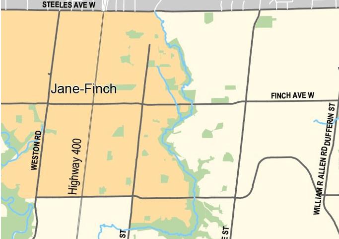 Jane Finch  多伦多
