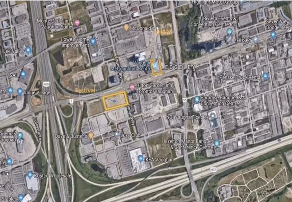 旺市地图 vaugh map