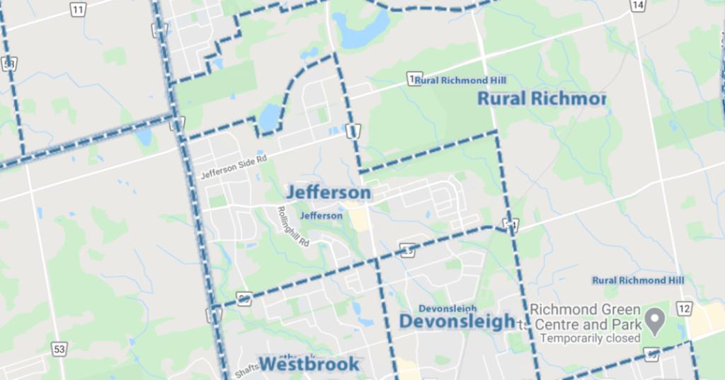 Jefferson 多伦多 姐夫村