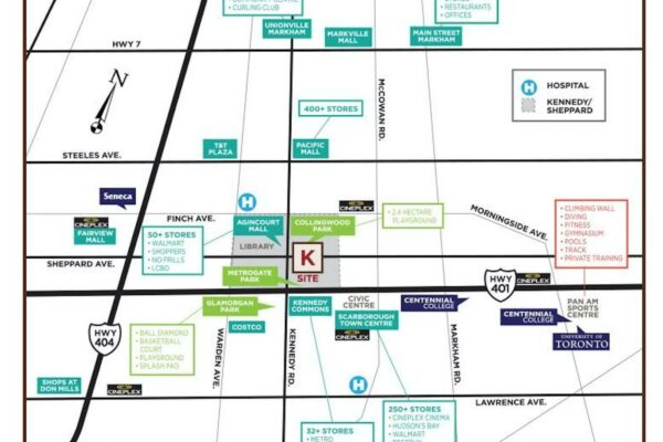 K-Square-Condos-Area-Map-Matthew Yan Realtor
